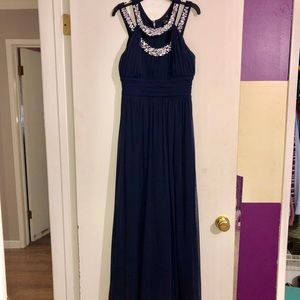 navy blue prom dress, or for any special occasion